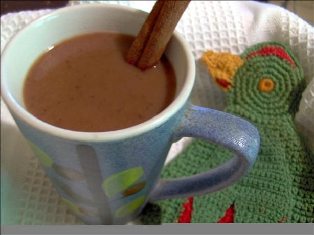 Champurrado (Mexican Hot Chocolate) from Food.com:   								This recipe is from the Nestle Very Best Baking.  Champurrado is a tradition in my part of the world on Christmas morning with tamales and sweet bread.
