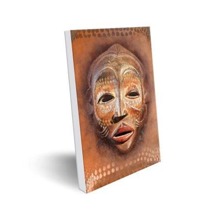 Tableau photo 50×70 Masque Africain  par Artmosphere Publishing
