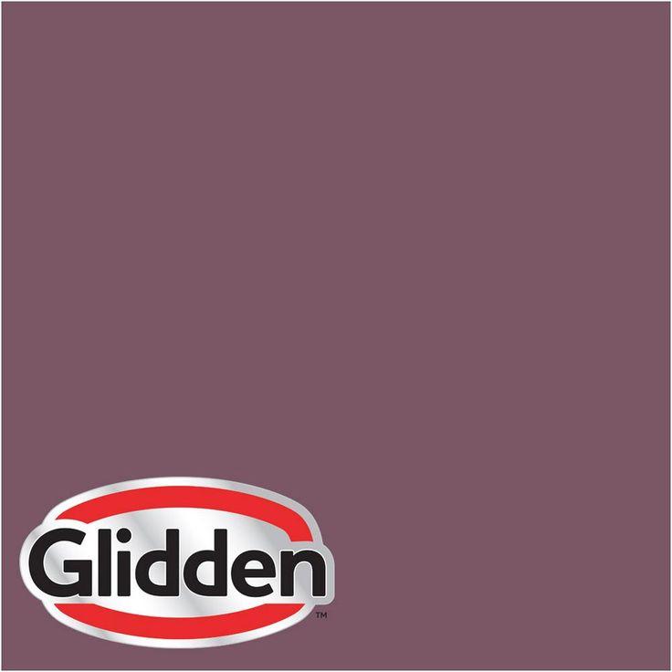 Glidden Premium 8 oz. #HDGR13U Currant Berry Eggshell Interior Paint Sample, Reds/Pinks