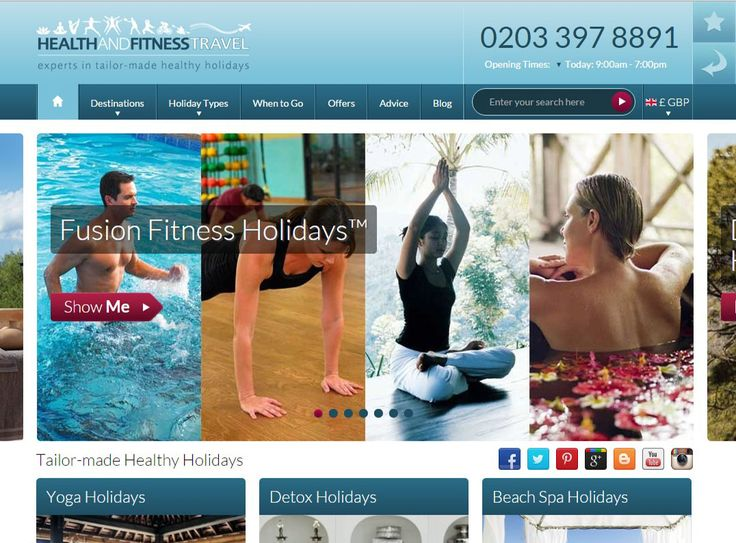 Welcome to Health and Fitness Travel, experts in tailor-made #healthy holidays.