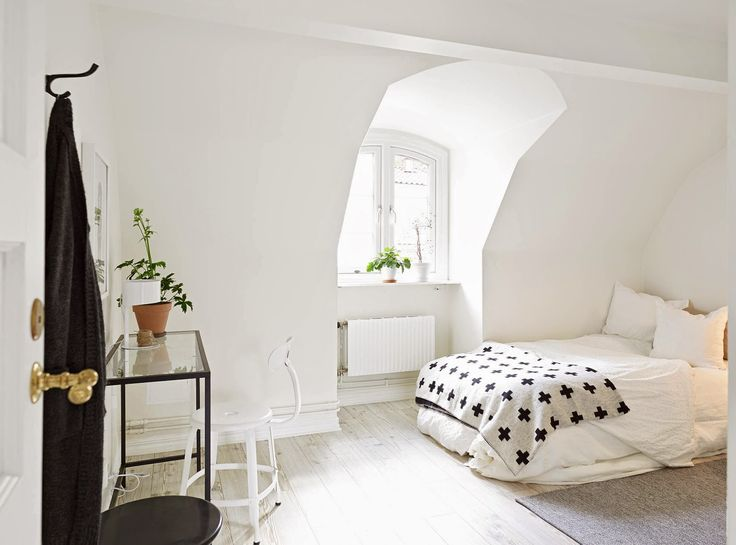 A calm white Swedish home
