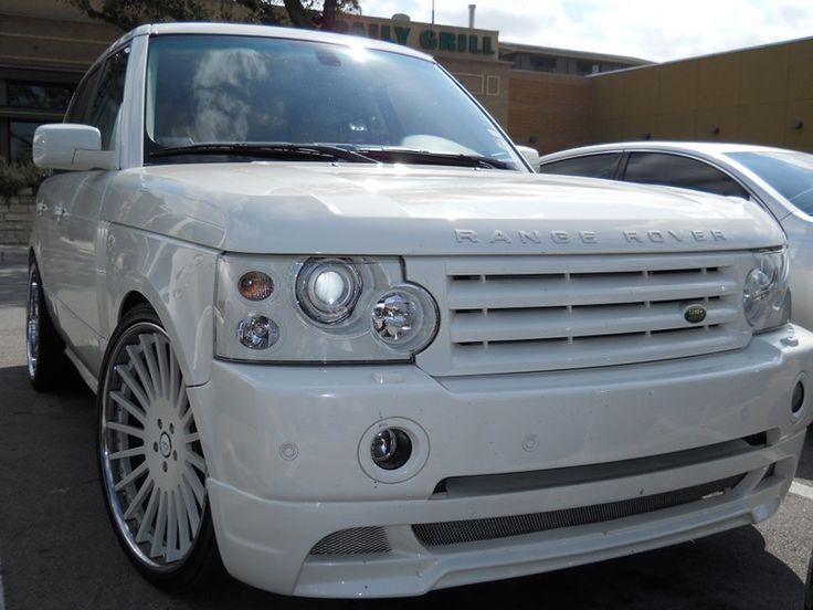 dream car... all white range rover!