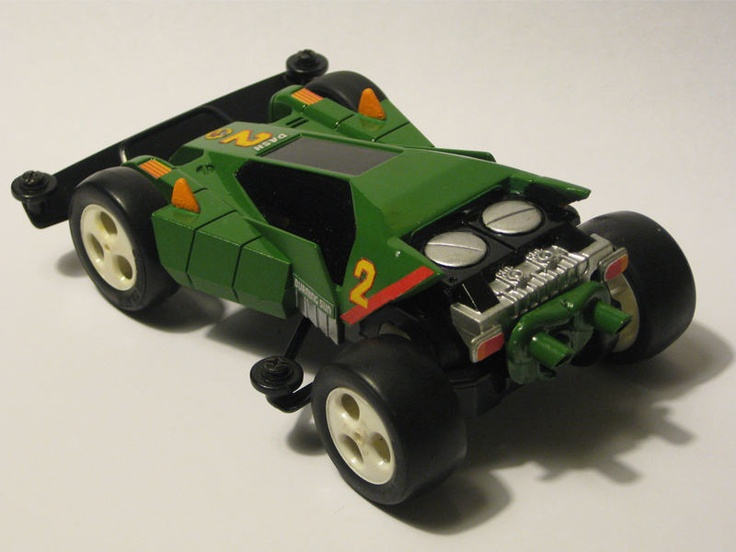 Dash 2 Burning Sun restored by Aran | Mini 4WD | #Mini4WD | #Tamiya