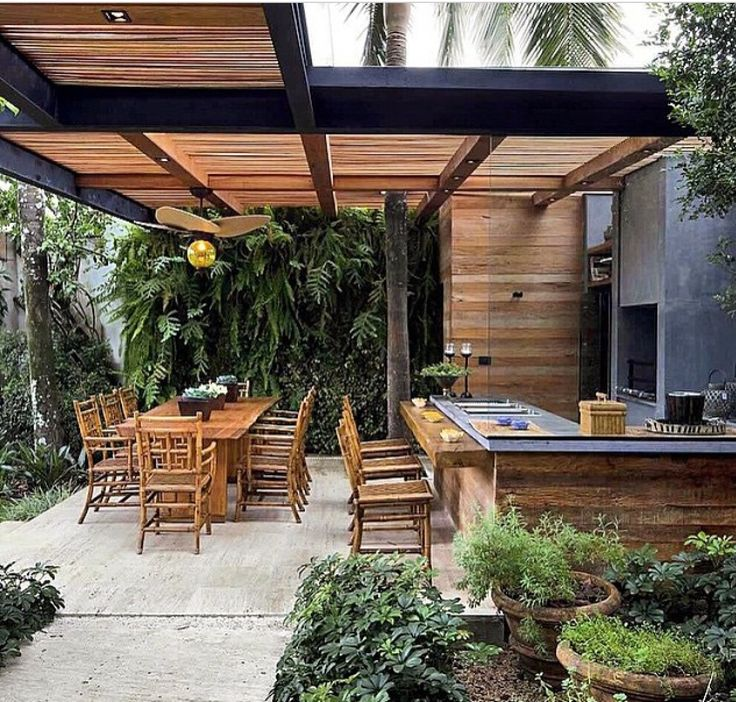 17 best ideas about barbecue area on pinterest outdoor for Outside barbecue area design