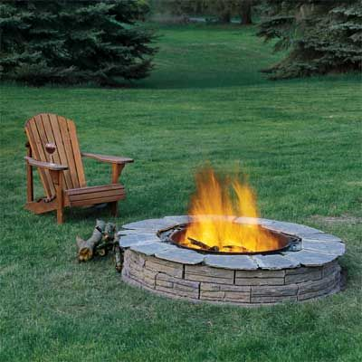 Build a Fire Pit to Turn Your Home Into a Staycation Resort