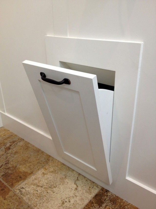 Laundry chute doors residential favorite places spaces for Laundry chute design