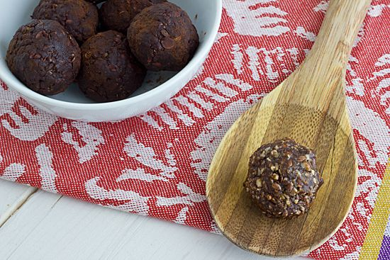No-Bake Molasses Bites ~ designed for a small but magnesium packed punch.  Suppose to help in the prevention of migraines.
