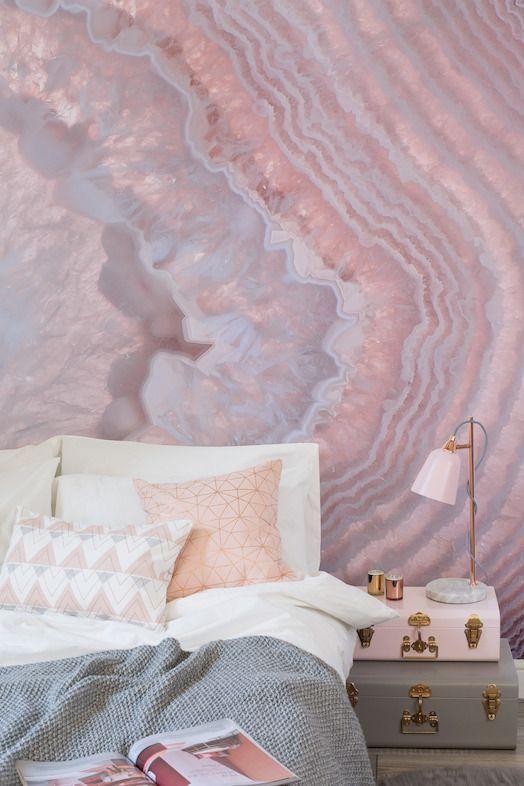 20 best Rose Gold Love images on Pinterest | Rose gold, Bedroom ...