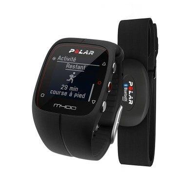 Accessoires du sportif_electro - Gps-horloge M400 zwart HRM POLAR