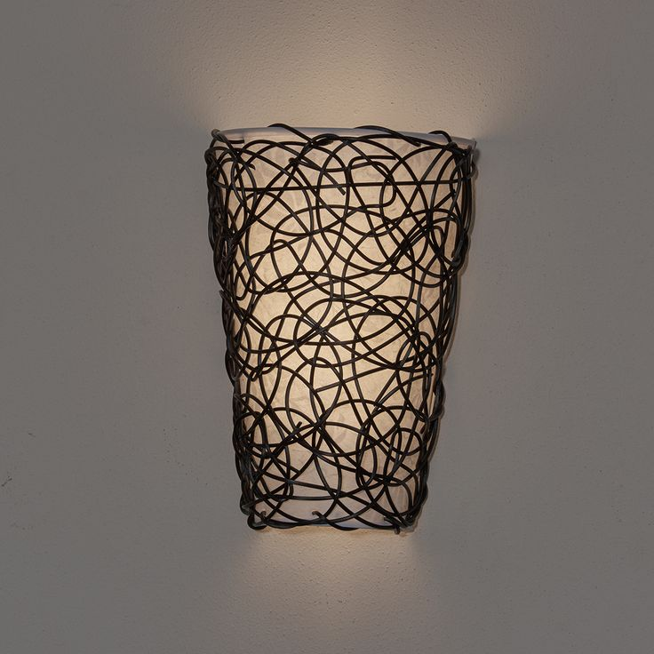 Its Exciting Lighting Wicker Black Indoor Battery Operated LED Sconce With Flameless Candle Flicker Mode And White Shade At The Home Depot