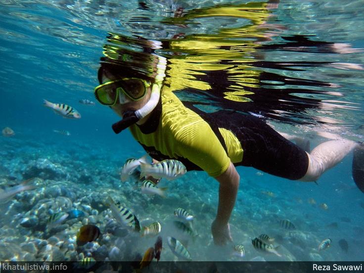 Snorkeling at Bunaken, Manado, Sulawesi Indonesia