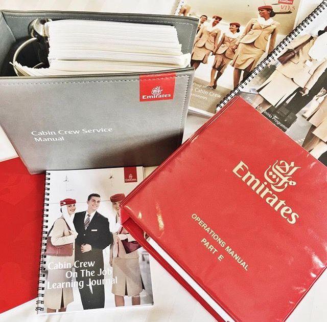 Emirates New Cabin Crew Member Materials