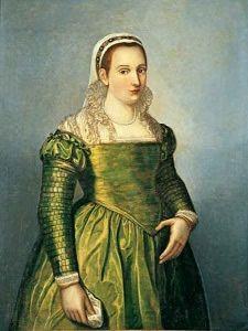 Vittoria Colonna (april 1492 – 25 februari 1547) - Portret door Girolamo Muziano. 16e eeuw