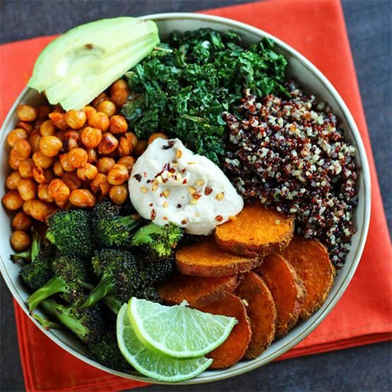 Roasted Veggie Quinoa Bowl
