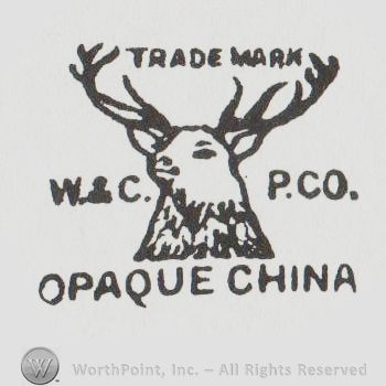 Mark with A deer head and TRADE MARK W & C P CO | #16974