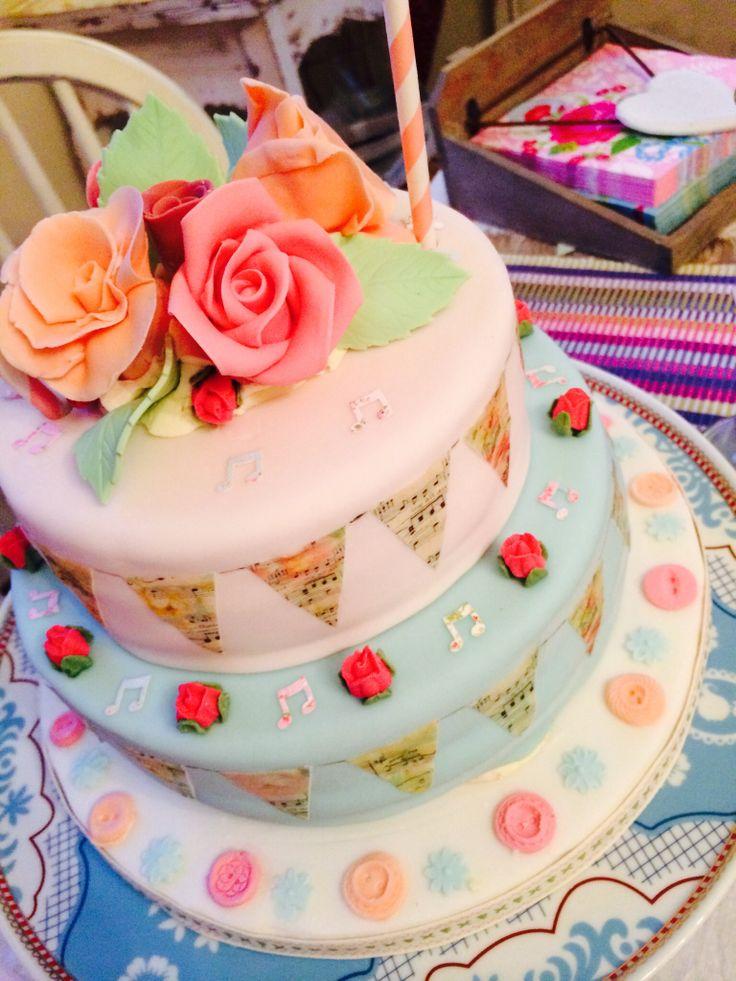 Birthday cake for my daughter cake birthday cake desserts