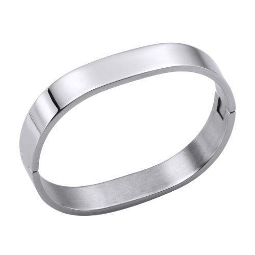 ''Love Cuff II'' Stainless Steel Cuff Bangle Bracelet 11mm Odysseus. $80.90. All Bracelet/Bangle come with our exclusive brand Odysseus box.. Our Stainless Steel Jewelry are high quality ,good design and hypoallergenic.  It is ideal as a gifts and accessories.