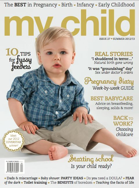 Our baby on the cover <3