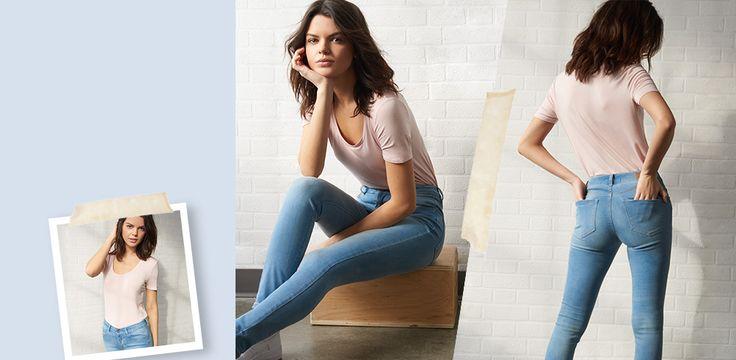 High Waist Jeggings & Jeans  Garage Clothing