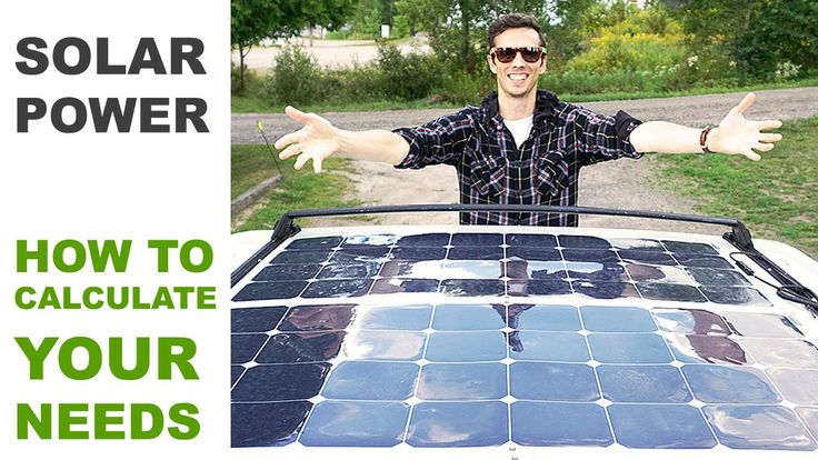 Thinking of getting an off-grid solar powered system? As these guys will show you on their camper van roof, you need to
