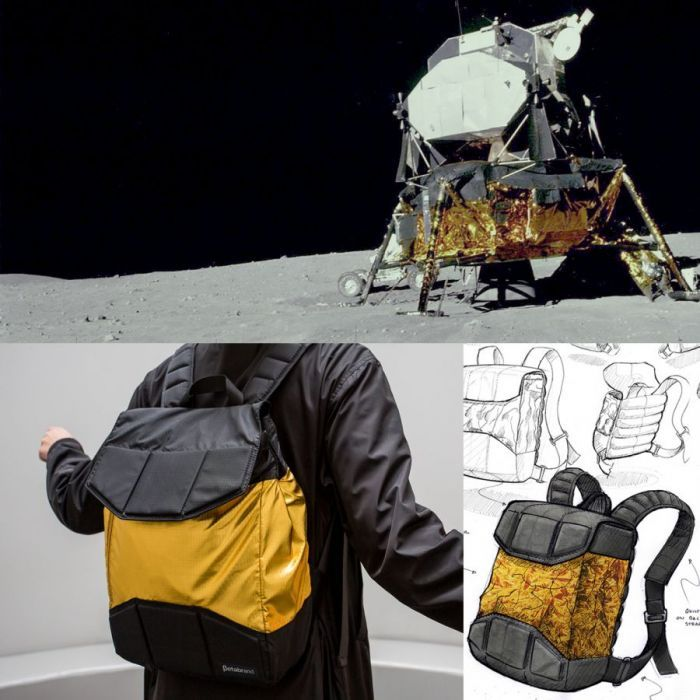 Nicholas Baker – Apollo lunar lander backpack