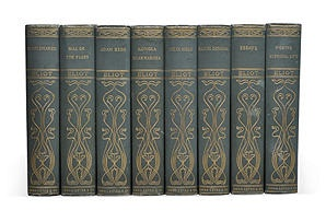 One Kings Lane - La Belle Vie - Antique Set of George Eliot, 8 Vols