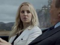 Kaley Cuoco Revealed as William Shatner's Daughter in Priceline Ad