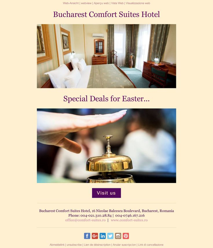 Special Deals for Easter...
