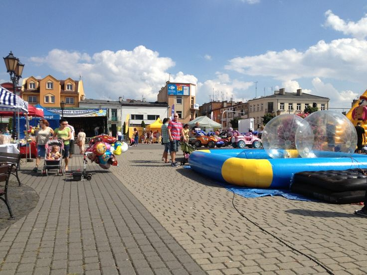 Rynek w Sochaczewie w Sochaczew, Województwo mazowieckie