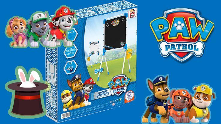 Pizarra combi de la patrulla canina - Dibuja con tus personajes favoritos de Patrol Paw