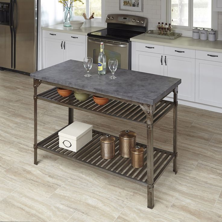 urban style kitchen island by home styles by home styles urban industrial industrial design. Black Bedroom Furniture Sets. Home Design Ideas