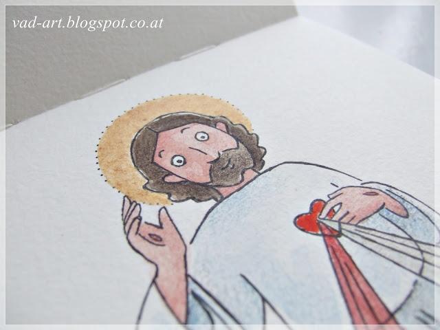 I love this artist's work! Divine Mercy!