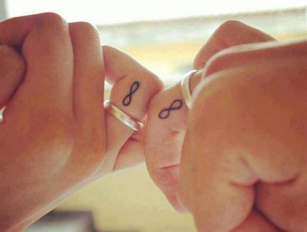 25 Best Ideas About Infinity Ring Tattoos On Pinterest