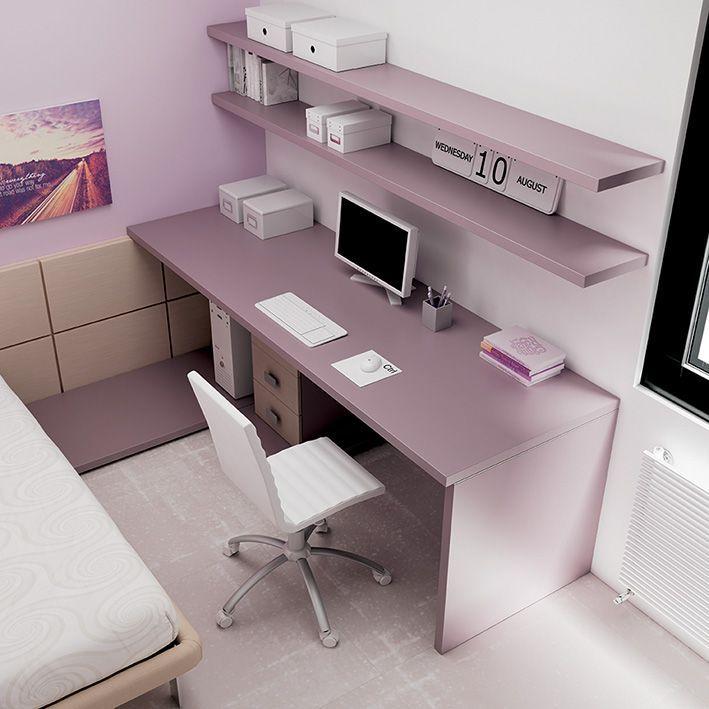 ... Scrivania Rosa su Pinterest  Ufficio rosa, Scrivania domestica e