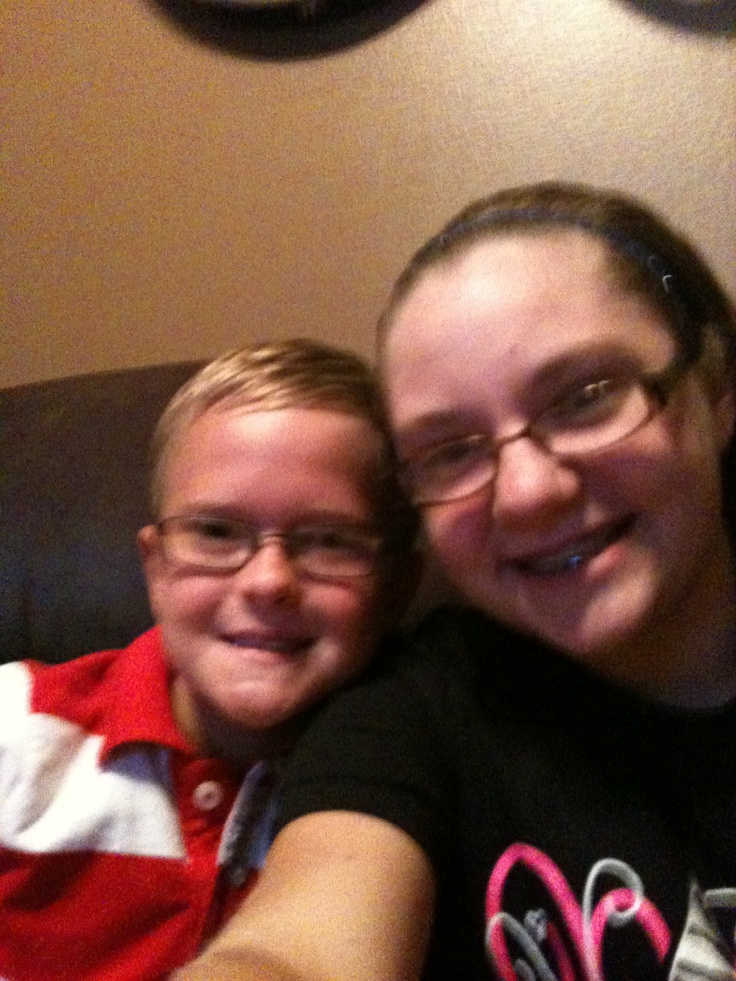 This is me and my cousin