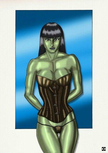 She Hulk #marvel #shehulk  #girl #woman #nude #draw #drawing #illustration #paint #painting #traditional #traditionaldrawing #art #erotic #eroticart #fanart