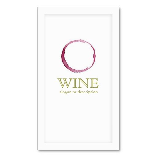 170 best images about wine business cards on pinterest for Wine business cards