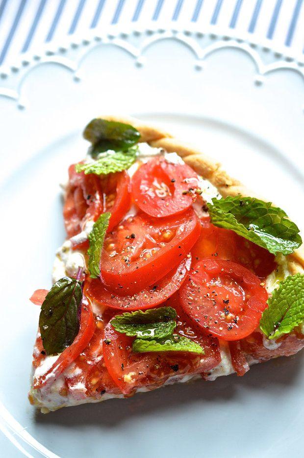 Rajčatový koláč s ricottou, Foto: Thinkfood.cz