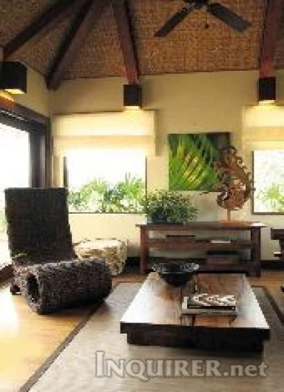 Modern Bahay Kubo interior... Lotsa inspiration for my future house!
