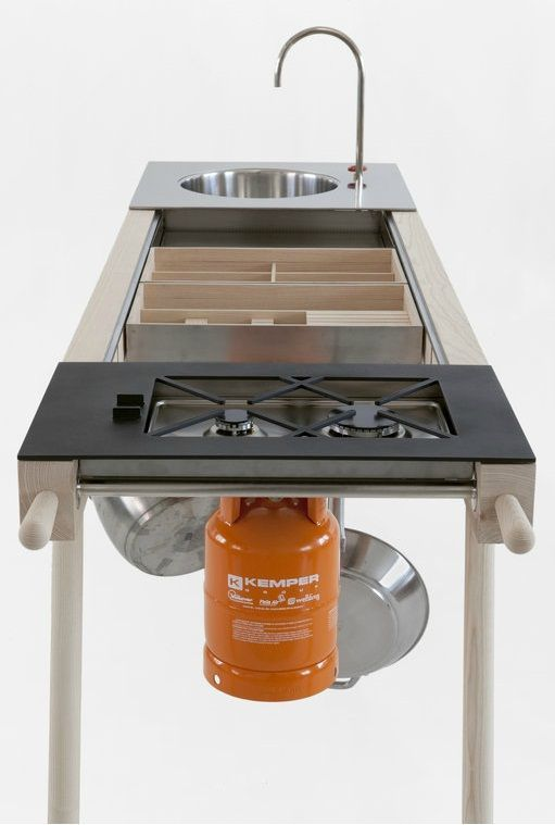 Portable Outdoor Kitchen A Mobile Kitchen That Works Outside And