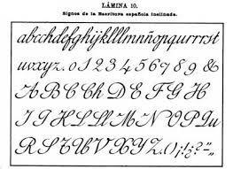 Resultado de imagen para Abecedario caligrafia cursiva para imprimir