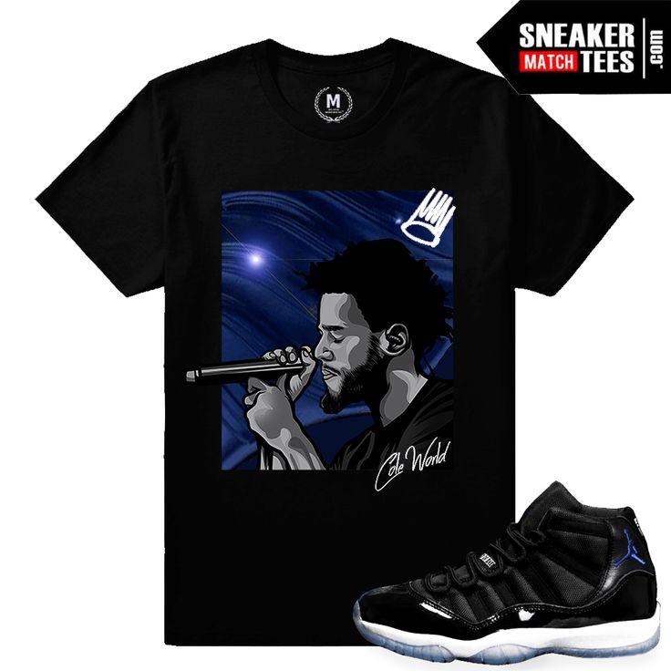 Space Jam 11 Match Jordan T shirt | Sneaker Match Tees Shop