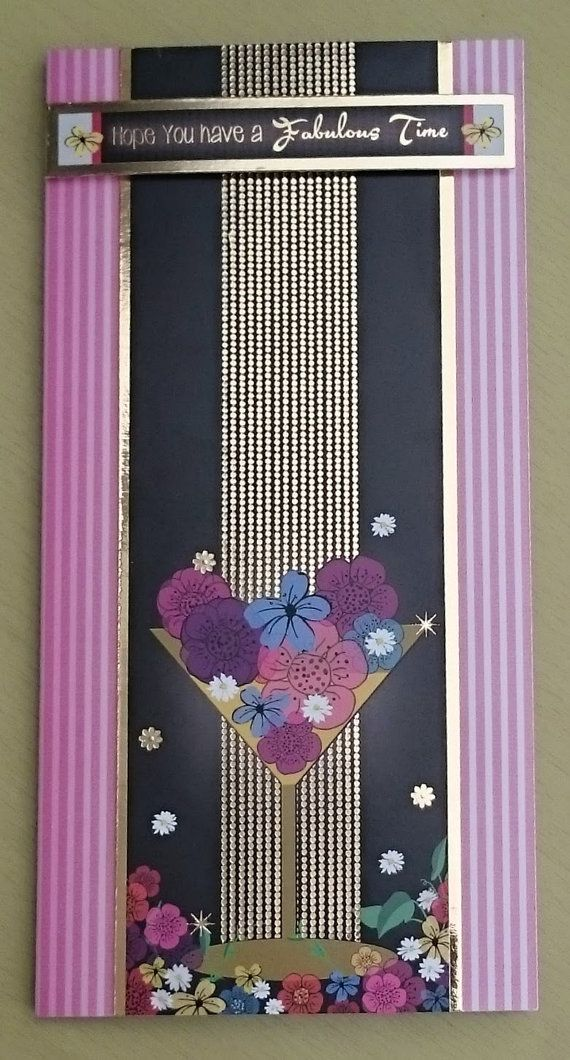 Handmade DL Greeting Card  Hope You Have a Fabulous by BavsCrafts
