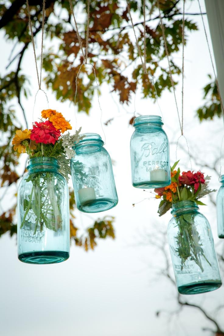 50 best farmers market wedding images on pinterest for How to arrange flowers in mason jar