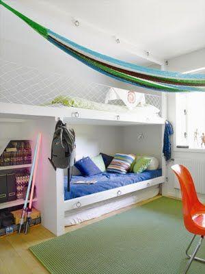Boy's room design by Helene Holmstedt,
