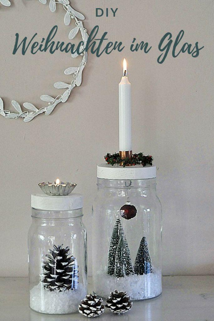 DIY: Weihnachten im Glas