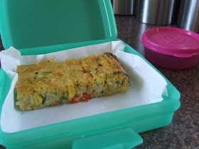 Full Little Tummies: Filling Lunchboxes with Vegie and Rice Slice