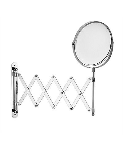 extendable bathroom mirror