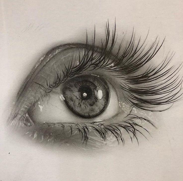 рисуем глаза с картинками человек это тот