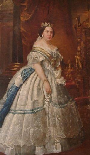 Isabel II by Miguel Melero Rodriguez (Museo Oscar Ma. de Rojas, Cardenas Cuba)